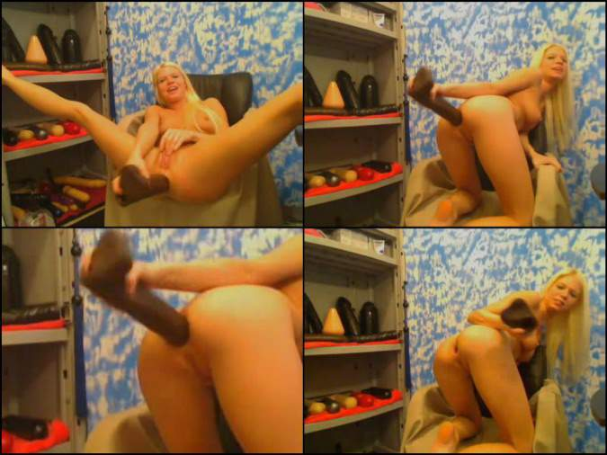 hot blonde dildo anal deep,dildo anal penetration huge toy,colossal toy deep anus stretching teen webcam