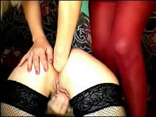 Fantastic lesbian webcam fisting hot