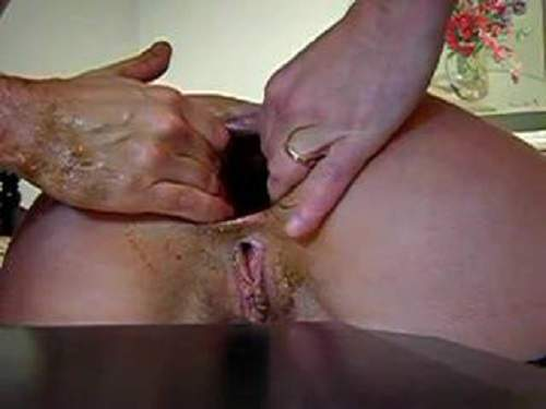 amateur, amateur fisting, anal, anal fisting, anal insertion, bottle, close up, closeup, fist, fisting, fisting anal, gape, gape ass, gaping anal, gaping ass, gaping asshole, webcam,milf colossal gaping asshole stretching