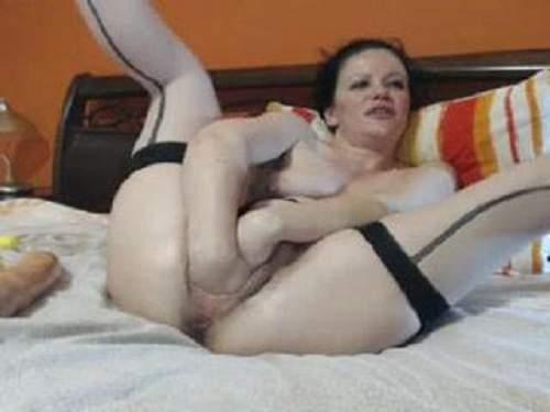 amateur, amateur fisting, anal, anal fisting, anal insertion, ball anal, close up, closeup, dildo, dildo anal, fist, fisting, fisting anal, hand fisting, huge dildo, long dildo, mature, webcam