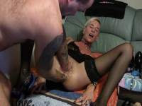 Unique mature amateur double fisting and big rosebutt