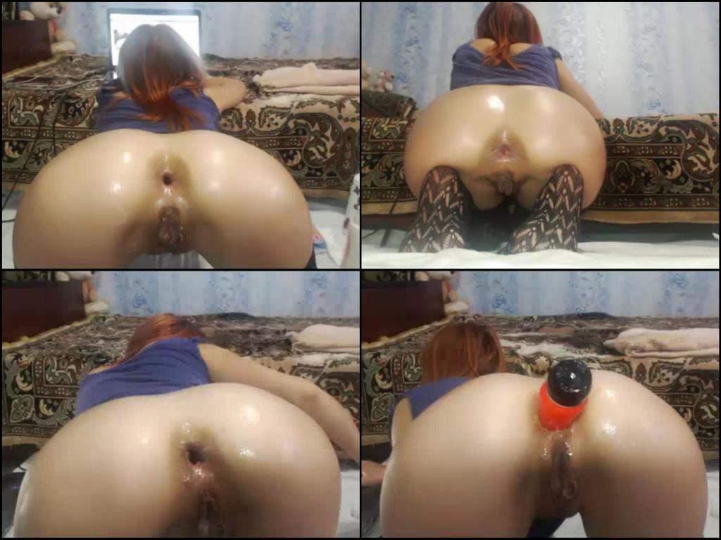 Nachbarn hätt Redhead girl anus know