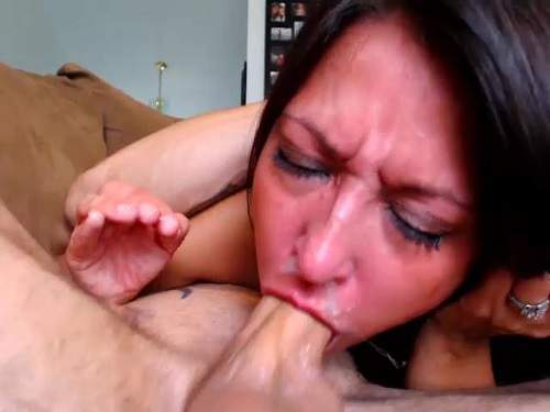 deep deep deepthroat mature mouthfuck