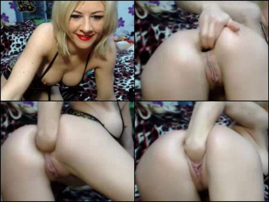 fisting Solo webcam amateur