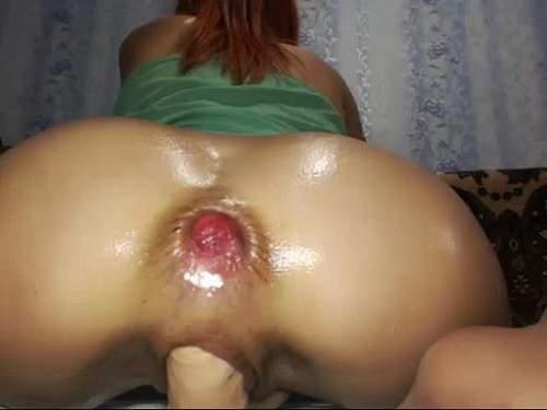 ass rosebutt very close,dildo deep penetrated,pretty girl dildo fuck,riding big toy,pussy stretched,asshole rosebutt very close sweet