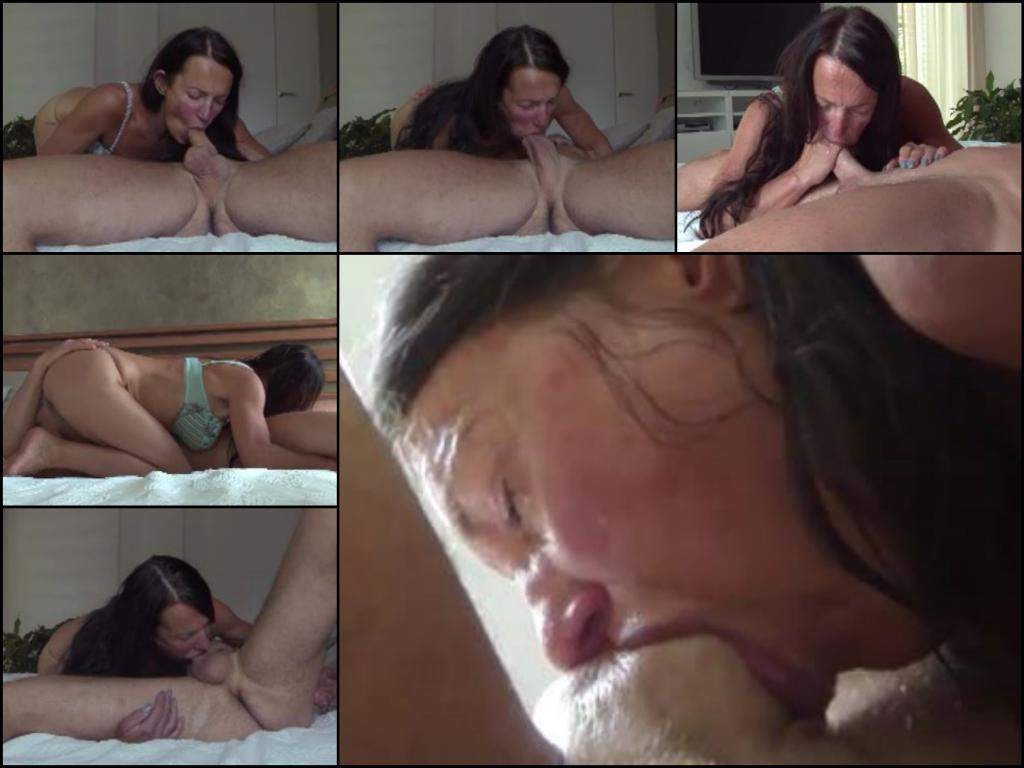 job Amateur deep blow