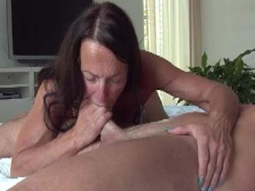 Mature blowjob home videos