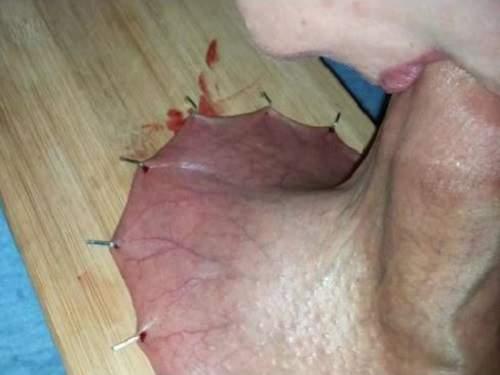Inredible deep throat video