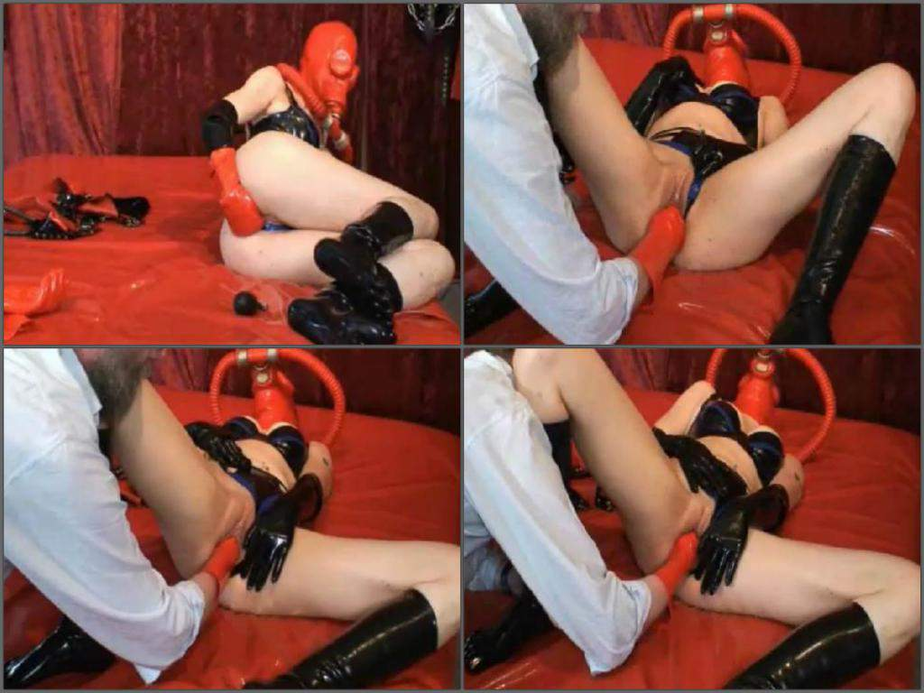 slut Amateur latex
