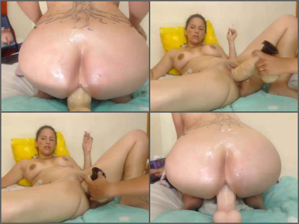 Solo Webcam Girl Riding Dildo
