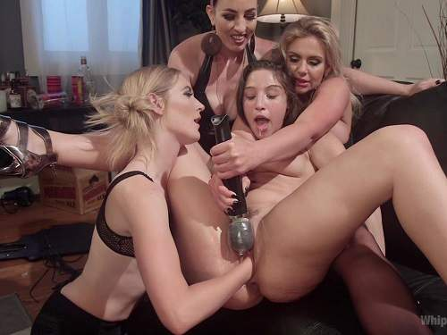 New 24.06.16 Abella Danger dominated by hot lesbians