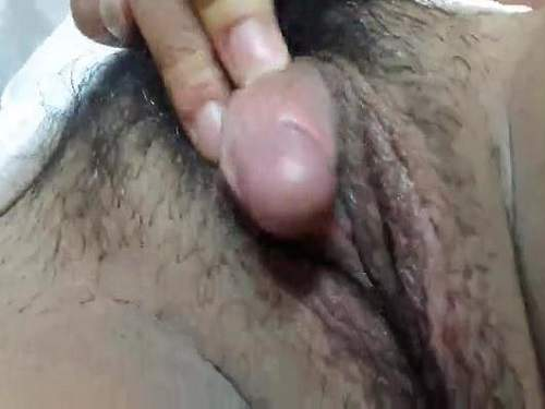 Apologise, wet mature pussy with large clitoris
