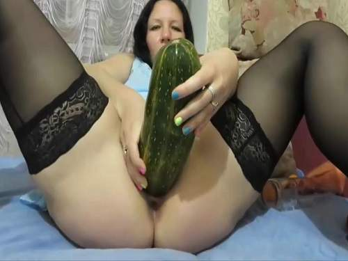 big squash insertion in pussy,colossal squash penetration,fisting pussy,solo fisting hot russian girl,bottle insertion in pussy,perverted milf with big pussy