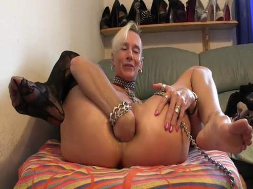 Grannies solo innocent pee