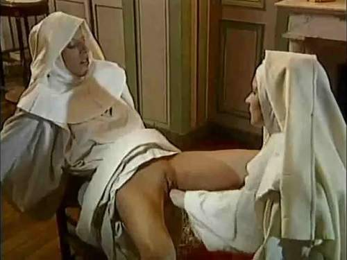 Perverted nuns vaginal double fisting rare video