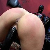 rubber girl domination,rubber lezdom video,lesbian domination dildos,deep dildo fuck in pussy,rubber queen domination