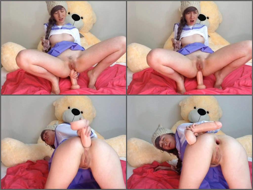 Gay anal dildo sex-9342