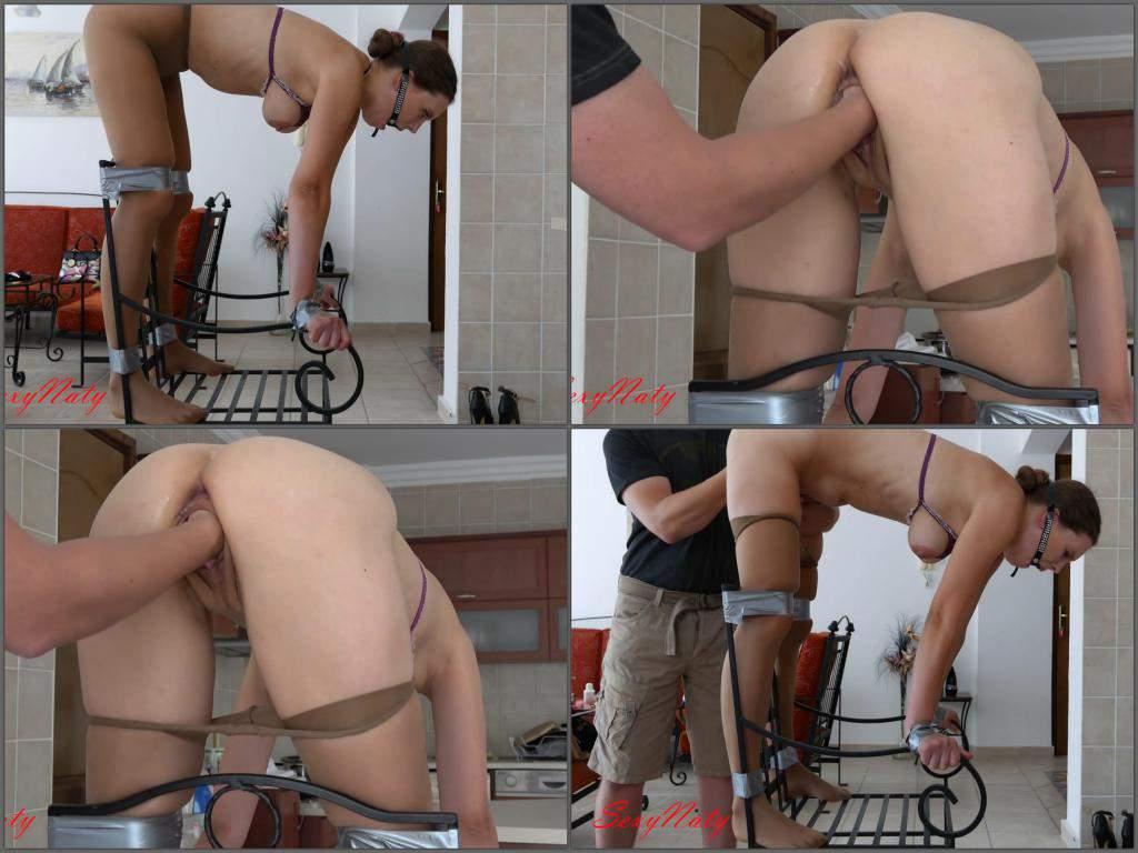 Bondage homemade amateur