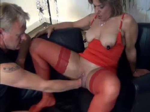 Fisting sex mature bizarre