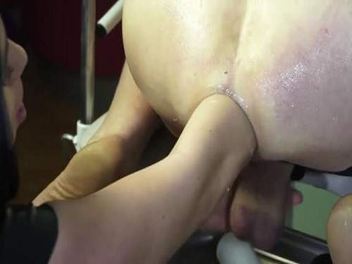 elbow fisting,deep fisting,anal fisting,anal prolapse,giant anal prolapse,elbow fisting russian mistress,femdom fisting,big ass prolapse loose