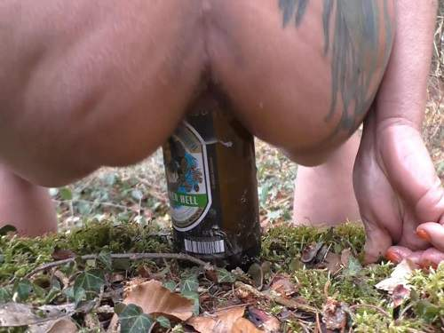tattooed mature,wife bottle riding,huge bottle riding,kinky mature toy fuck,huge dildo fuck,toy insertion in pussy,outdoor naked milf,very closeup bottle insertion,bottle in pussy