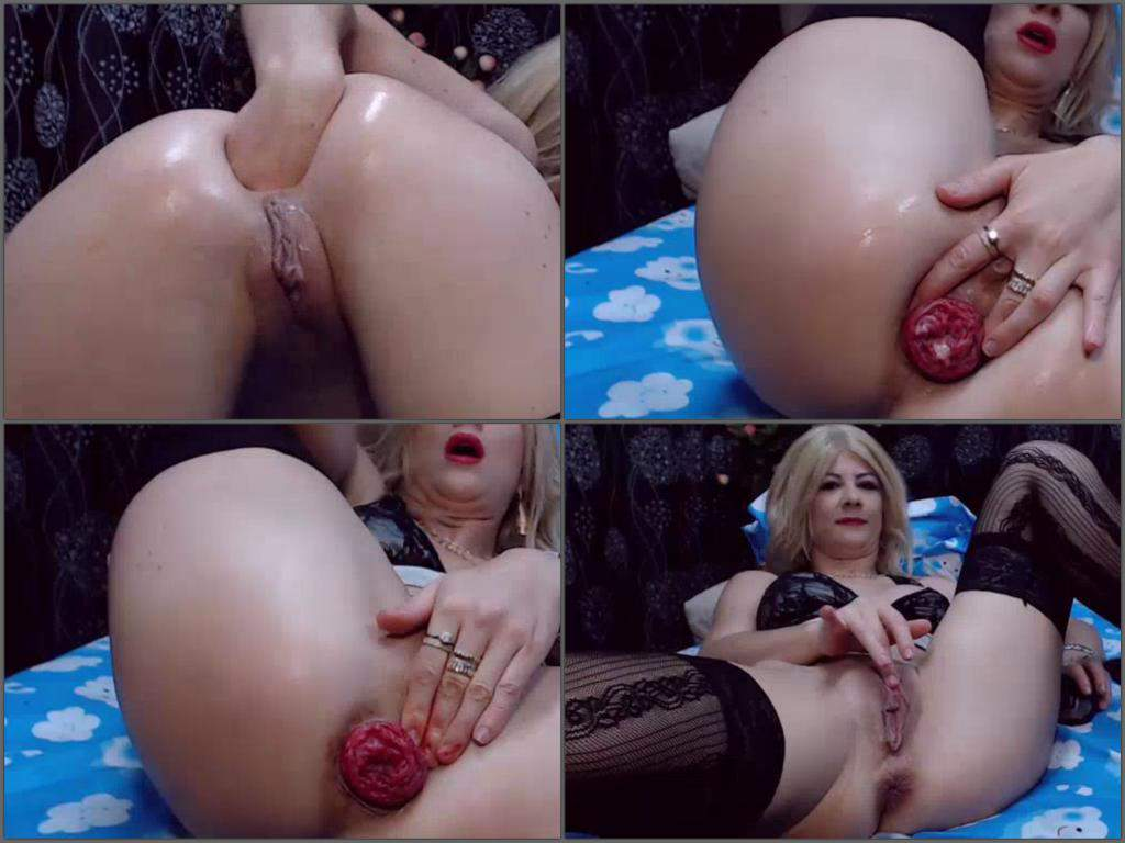 large anal prolapse - Preview: Webcam blonde milf solo ruined her big anal prolapse