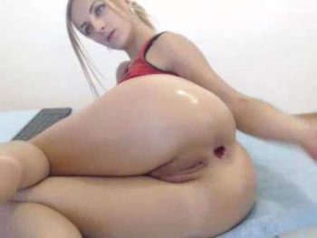 webcam blonde loose her asshole gape,big anal gape,huge gaping loose,anal gape ruined,dirty blonde ruined her big asshole,big anus gape