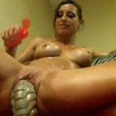 bad dragon dildo riding,huge dildo riding,giant dildo riding,sexy mature,busty milf,colossal dildo riding