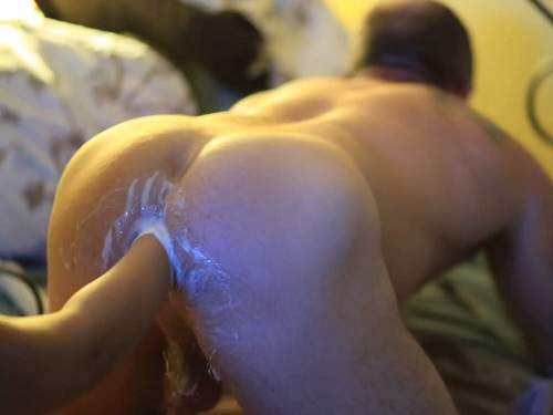 anal fisting,femdom wife,female domination,deep fisting,fisting porn,homemade femdom video