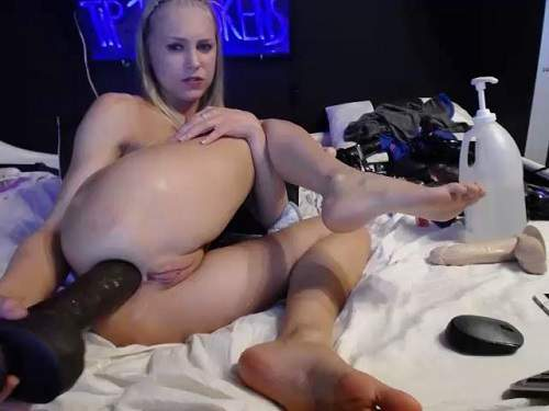 image Teen anal gape toy boom heads the bass