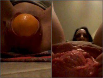 amateur pornstar pussy ruined,piercing pussy,mature pussy ruined,big piercing cunt,vegetable fuck,orange in cunt