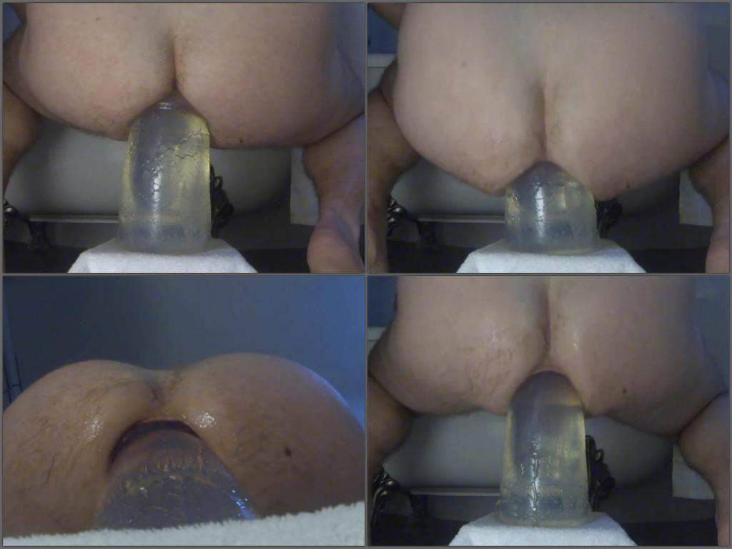 Always good anal dildo slave vid
