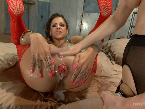 Lesbian playtime between amy reid and her friends 4