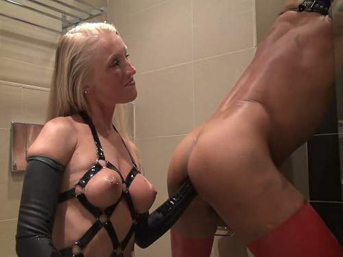 German LadyKacyKisha extreme fisting domination homemade