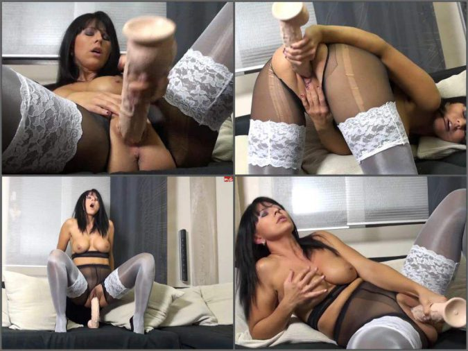 mydirtyhobby pornstar,dildo riding,big dildo riding,toy penetration,busty milf,mature toy insertion,giant dildo fuck,titted mature pussy fuck