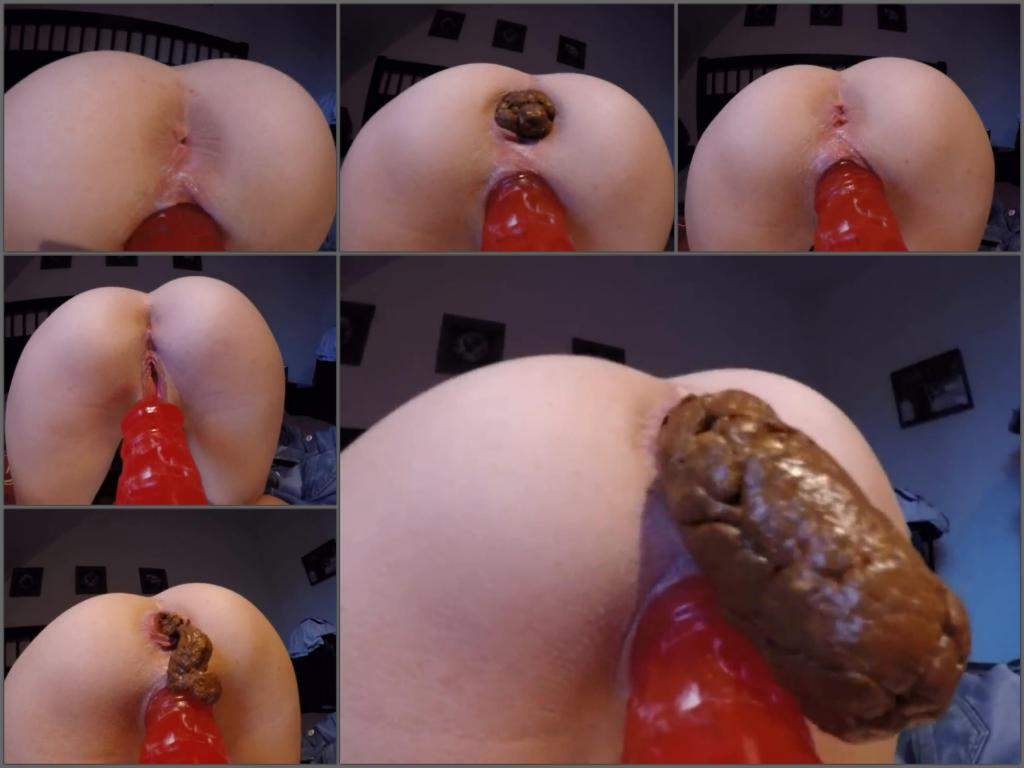 Dildo poop video apologise, but