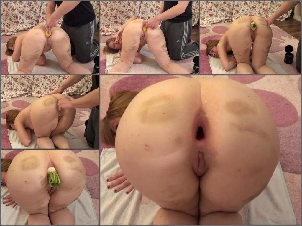 Anal gape webcam