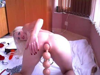 dildo anal,monster dildo anal,hanging tits,piercing nipples,piercing pussy,dildo anal fuck,anal gape loose