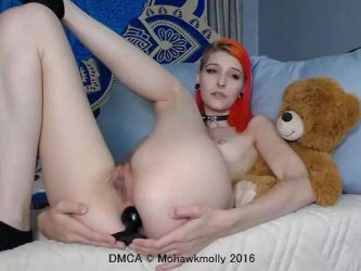 Mohawkmolly dildo anal,big dildo anal,big dildo penetration,webcam teen anal,naked teen,redhead naked teen,butplug ruined big ass,teen wearing perverted suit