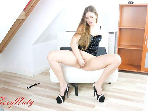 Beautiful german girl SexyNaty pussy fisting homemade – Release August 01, 2017