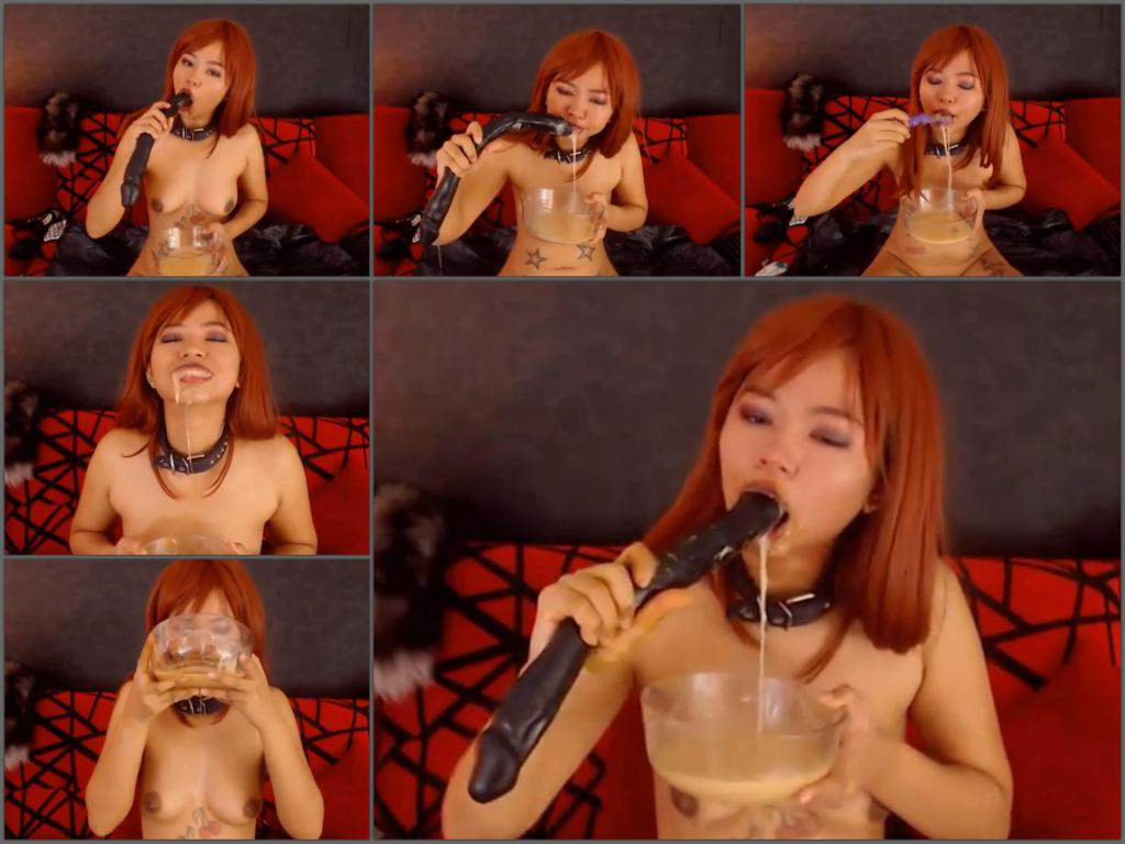 Teen Asian Webcam Dildo Solo