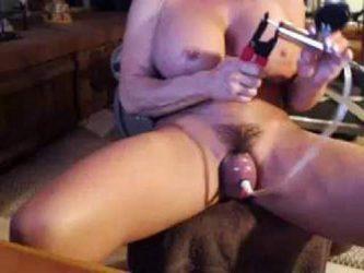 muscular mature pussypump,mature pussypump,hairy pussy pump,muscular mature porn,dildo rides,big dildo penetration