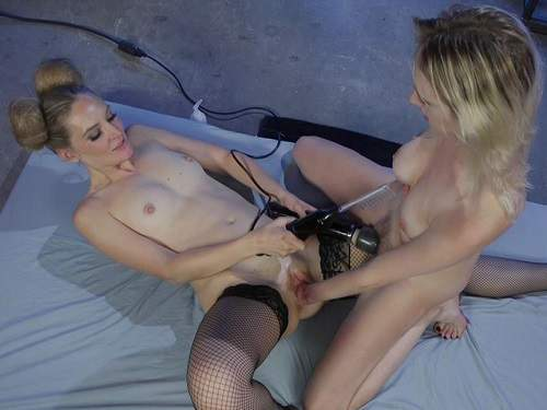 Mona Wales and Cadence Lux,lesbians fisting,pussy fisting,deep fisting sex,skinny girl,electro bdsm,dildo penetration,fisting sex closeup,lezdom fisting