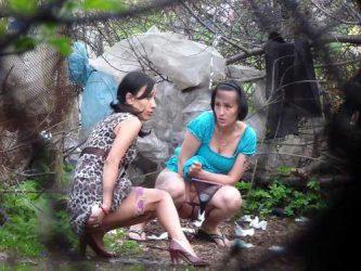 voyeur porn,voyeur video,outdoor peeing,russian girls peeing,hidden cam in the forest,spy peeing porn