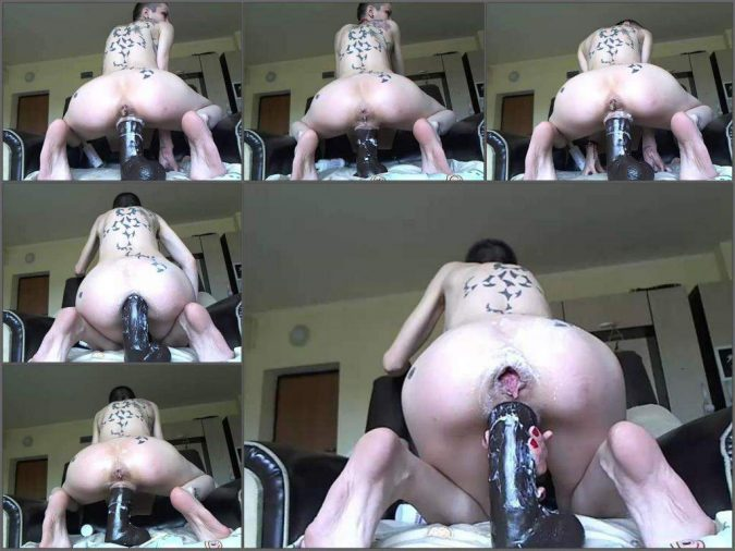 tattooed girl dildo rides,huge dildo rides,dildo porn,dildo penetration,tattooed girl anal fuck,bbc dildo porn,bbc dildo rides,monster dildo ruined big anus