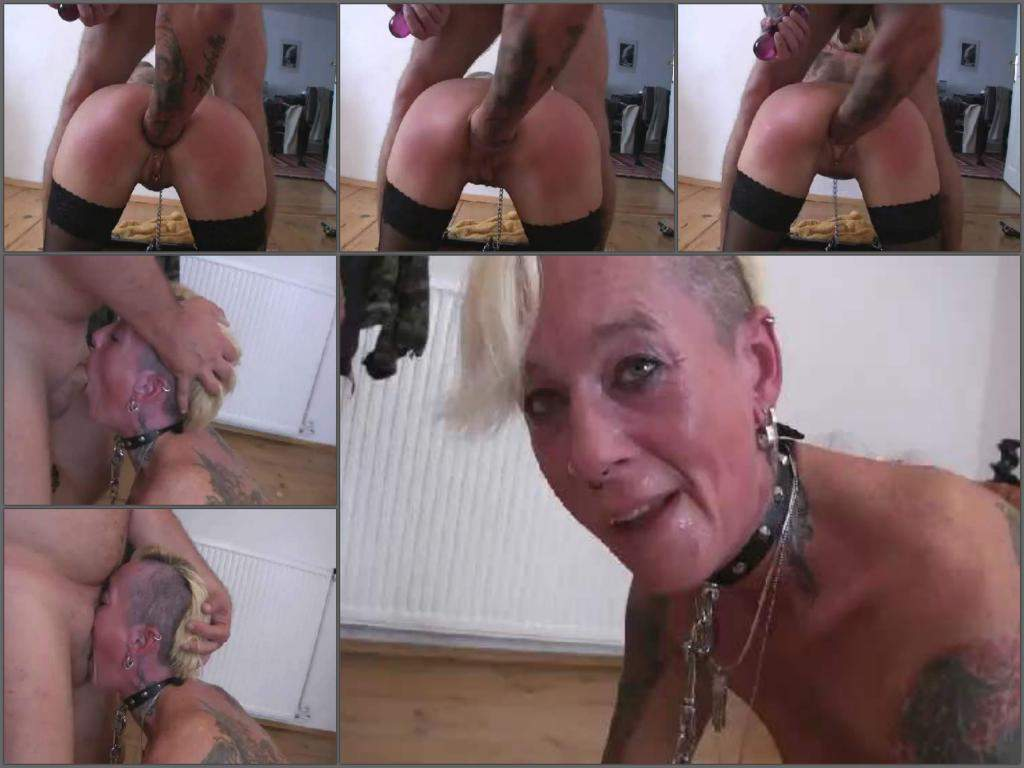 Mature wife gagging
