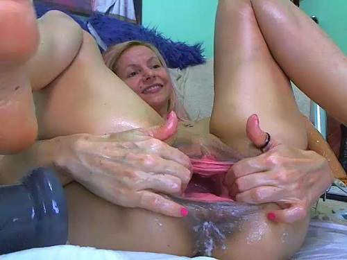 double penetration,dildo deep anal,dildo porn,anal ruined,huge bottle in pussy,bottle penetration,hardcore bottle fuck,champagne bottle penetration,hard stretching cunt