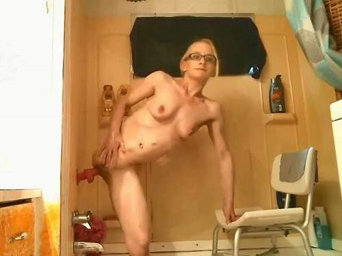 Rare Amputee Porn  Girl Without Leg Solo Dildo Rides -4706