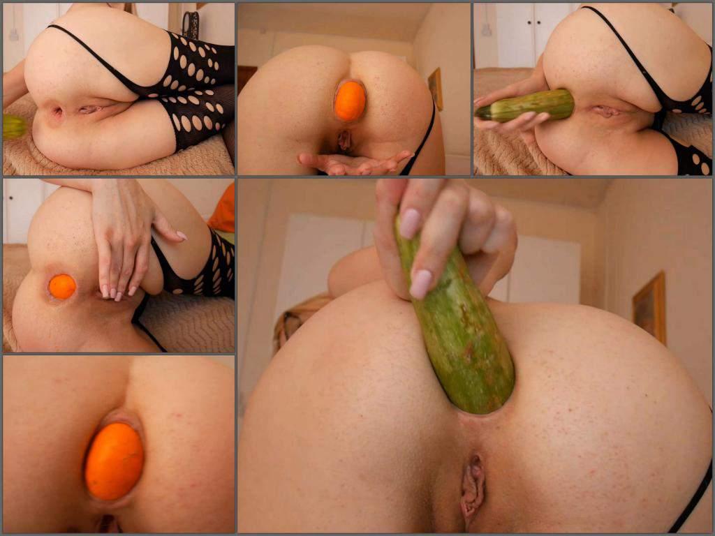 Zucchini Anal