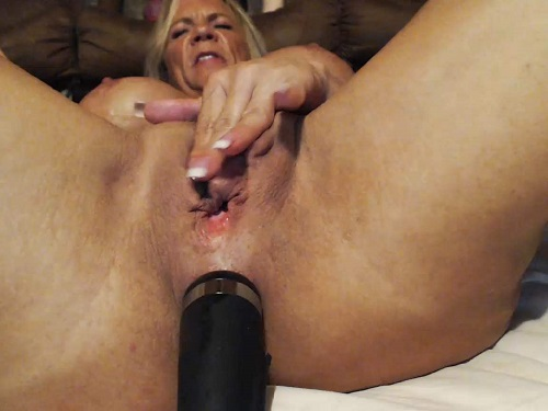 Pussy hairy pumped clit big